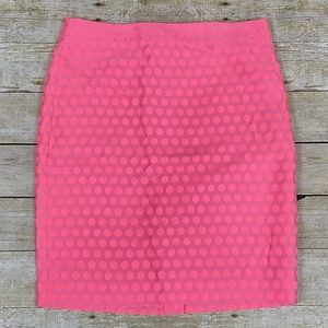 J. Crew Factory The Pencil Skirt In Polka Dot, NWT